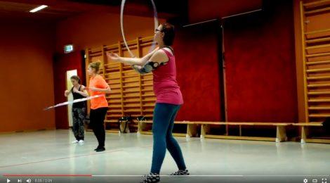 Hoopdance im ASKÖ Linz Imagefilm