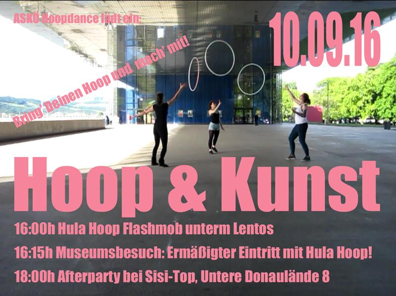 Hoop-Kunst-Flyer