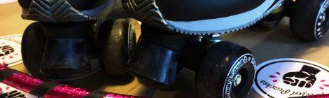 Showact bei Roller Derby Meisterinnenschaft