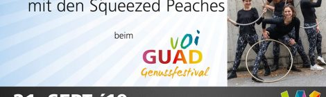 Voi Guad - HulaHoop Show in Wels